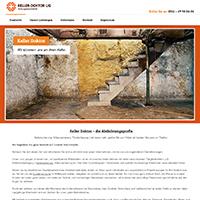 Webseite für ein Bauunternehmen